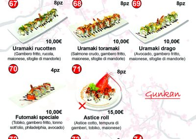 Menù Miku Sushi- 09