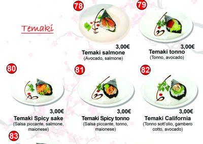 Menù Miku Sushi- 10