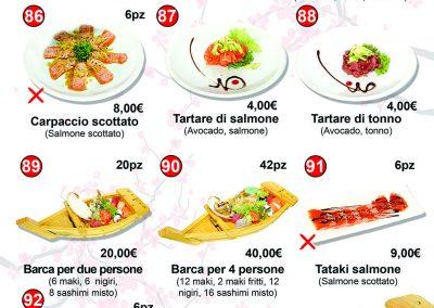 Menù Miku Sushi- 11